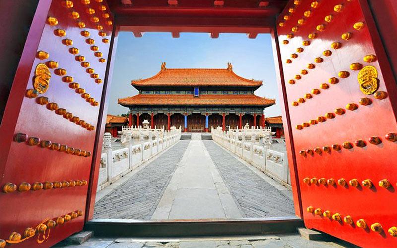 شهر ممنوعه و کاخ های امپراطوری از جاذبه های گردشگری پکن