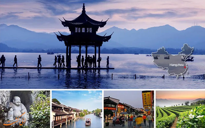 شهر هانگژو از شهرهای معروف چین