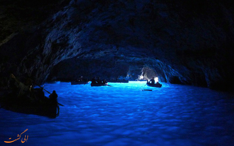 غار آبی در کامپانیا
