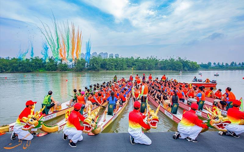 فستیوال قایق اژدها-فستیوال های چین
