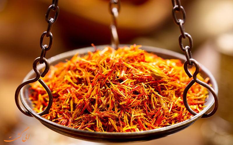 زعفران، سوغاتی مشهد
