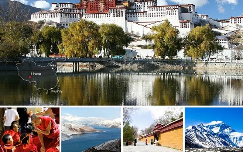 لهاسا دروازه تبت-شهرهای معروف چین