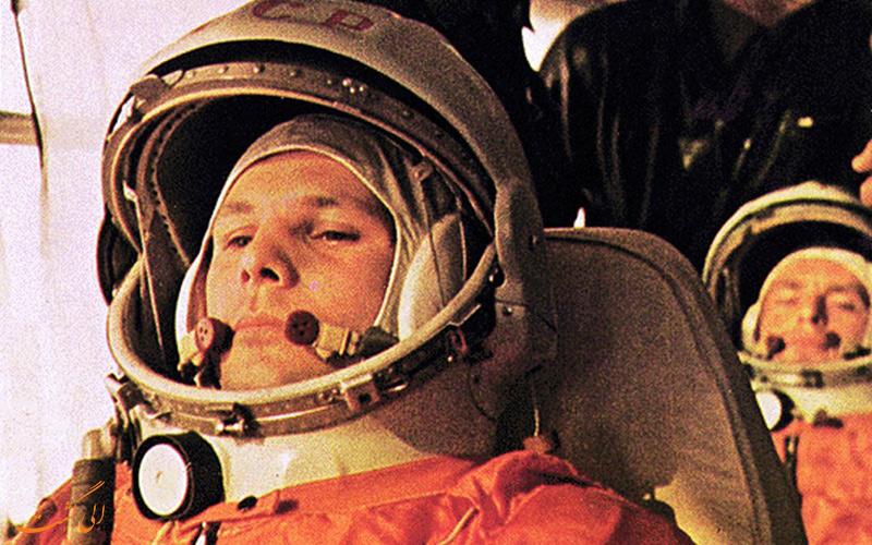 یوری گاگارین اولین انسانی که به فضا رفت