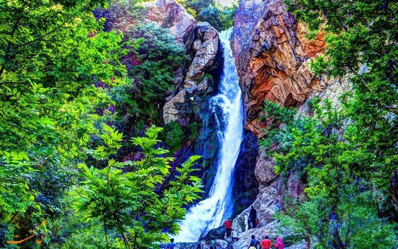 آبشار شلماش در سردشت