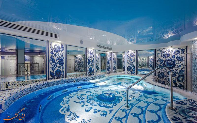 امکانات تفریحی یک هتل اتریشی