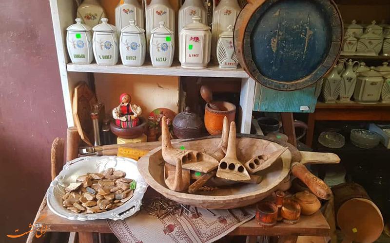 لوازم آشپزخانه قدیمی