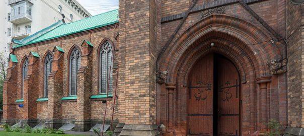 کلیسای انگلیکان سنت آندره مسکو | St. Andrew's Anglican Church, Moscow