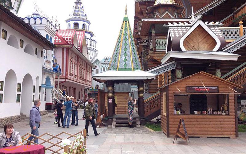 چطوری به بازار سنتی ایزمایلوفسکی مسکو برویم؟
