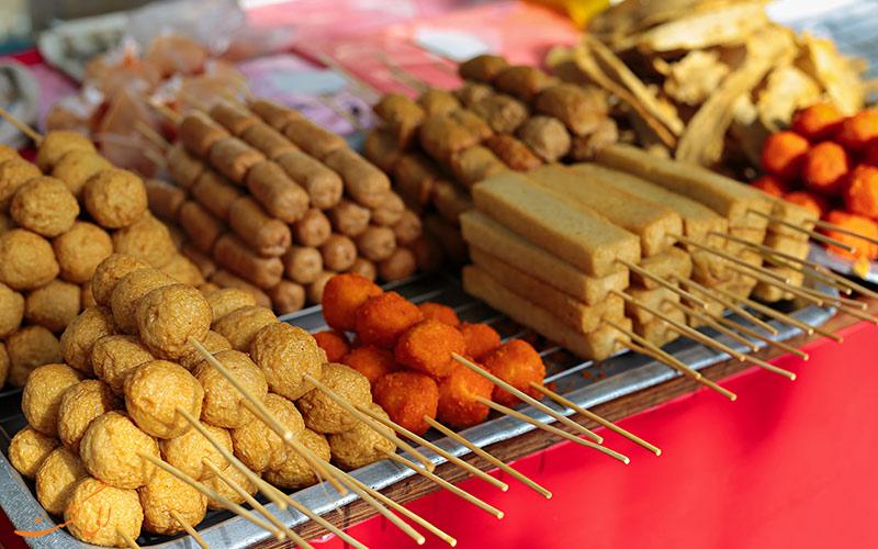 غذاهای خیابان پتالینگ