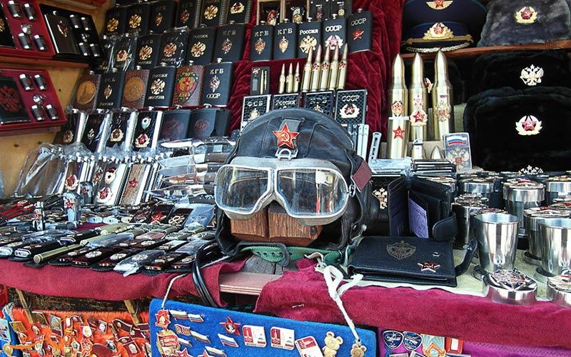 در بازار سنتی ایزمایلوفسکی مسکو چه چیزهایی می توانید بخرید؟