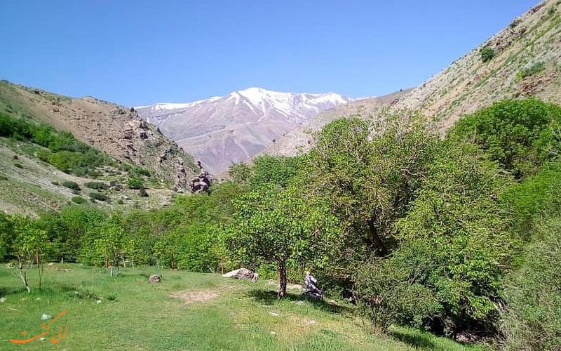 دسترسی به روستای امامه از آبشار گلوکان