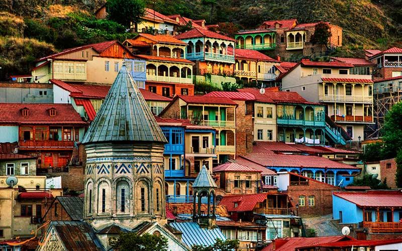 جاذبه های شهر تفلیس در گرجستان