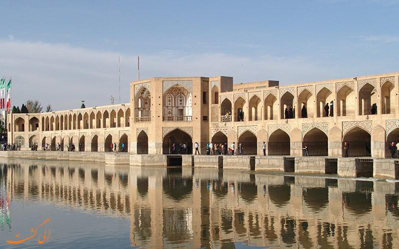 پل خواجو اصفهان چه زمانی ساخته شد؟!