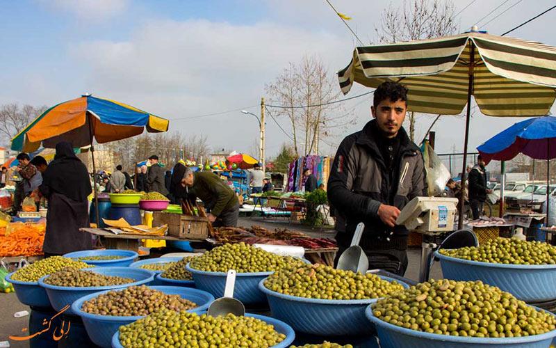 یکشنبه بازار صومعه سرا