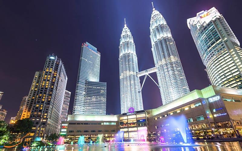 برج های پتروناس | Petronas Twin Towers