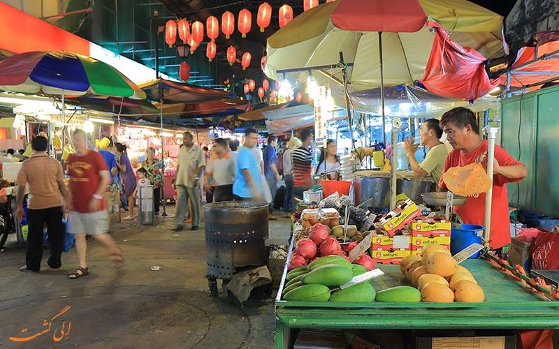 غرفه های فروش غذا در پتالینگ