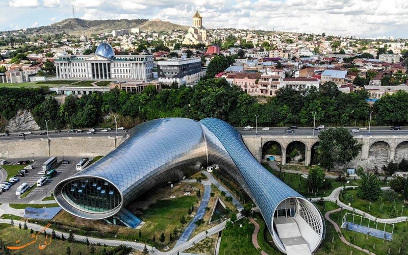شهر تفلیس در گرجستان