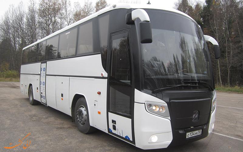 اتوبوس های سفری روسیه