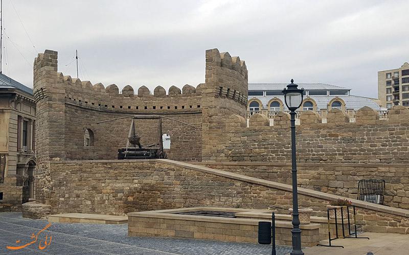 جاذبه های تاریخی در ایچری شهر باکو