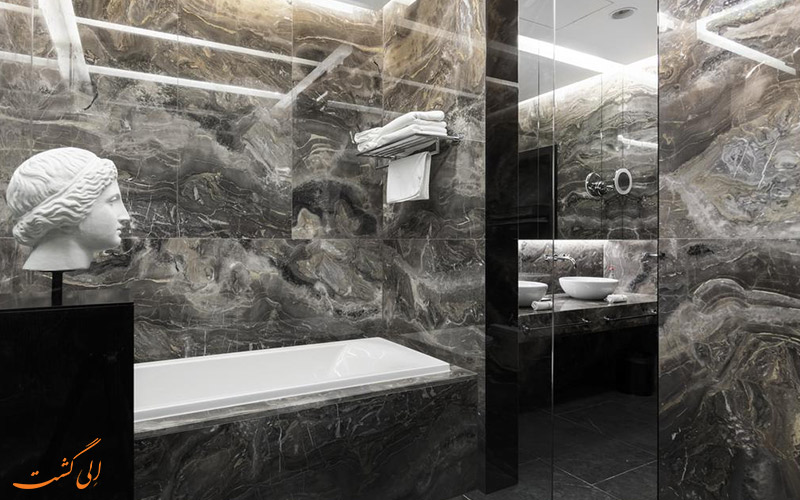 حمام مجزا هتل 5 ستاره