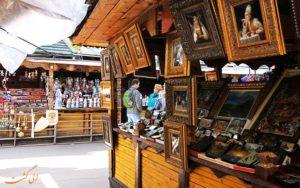 بازار سنتی ایزمایلوفسکی مسکو