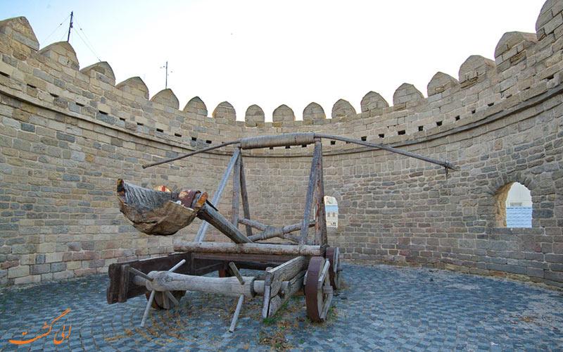 نمایی از محوطه ی تاریخی ایچری شهر