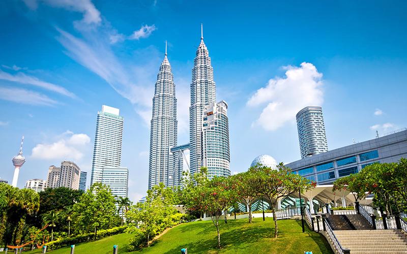 برج های دوقلو در کوالالامپور