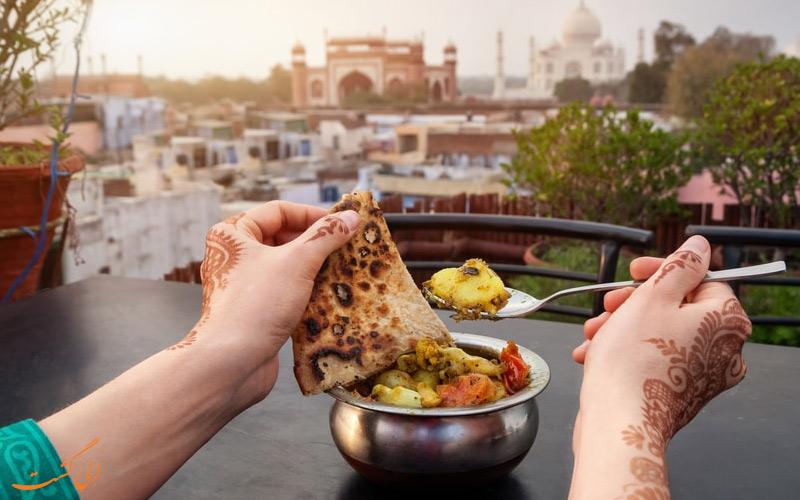 بهترین رستوران های آگرا در اطراف جاذبه های گردشگری