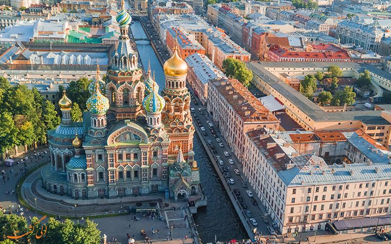 مسکو در فصل گردشگری