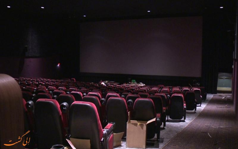 نمایی دیگر از سالن سینما باتومی