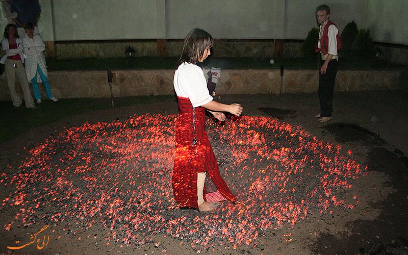 فستیوال های بلغارستال روی آتش
