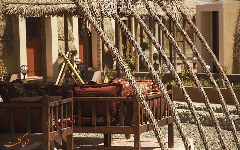 هتل کپری پارسیان قلعه گنج