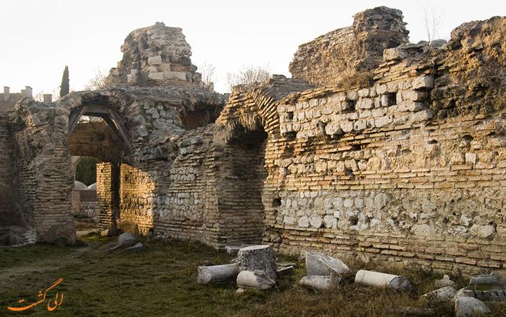 بزرگ ترین حمام رومی