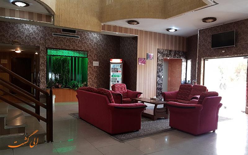 لابی و موقعیت هتل همام اصفهان