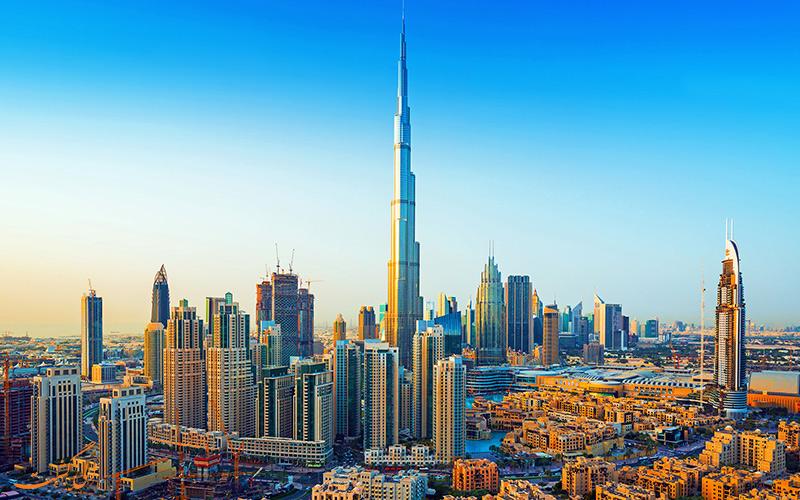 شهر دبی مدرن ترین شهر در کشورهای عربی