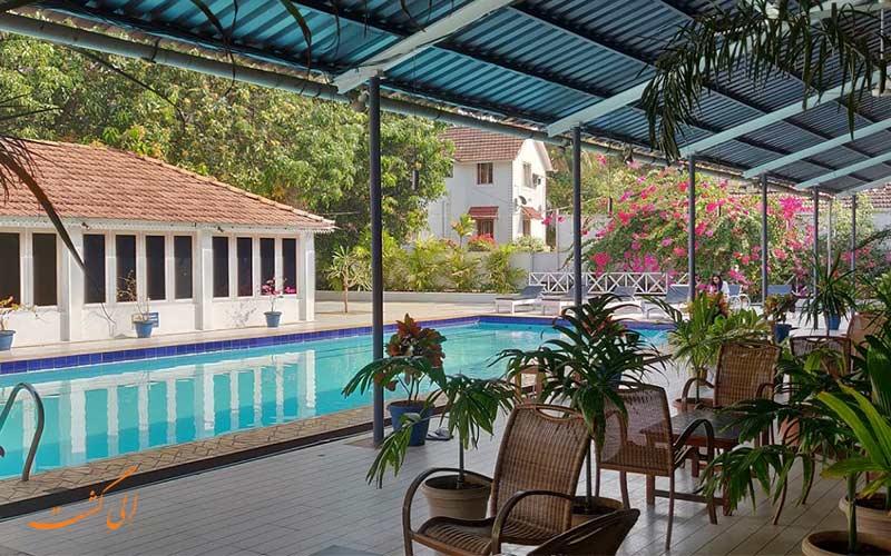 استخر هتل انجلز از بهترین هتل های 3 ستاره گوا