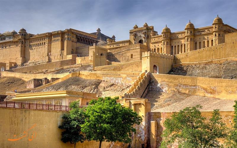 قلعه آمبر از جاهای دیدنی جیپور