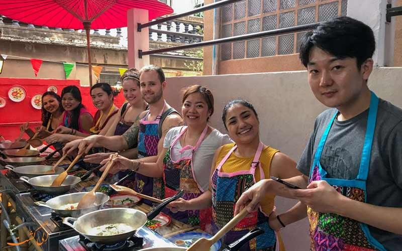 کلاس های آشپزی، راه پیدا کردن دوستان جدید در بانکوک
