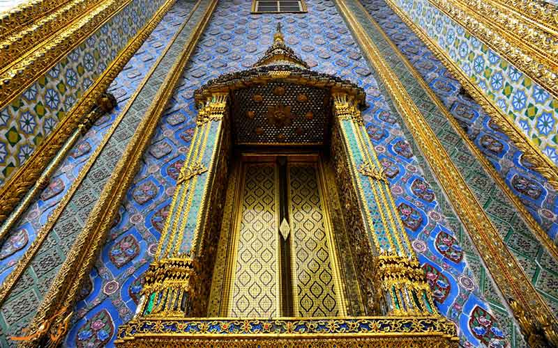 تاریخچه قصر بزرگ بانکوک و نمای بیرونی آن