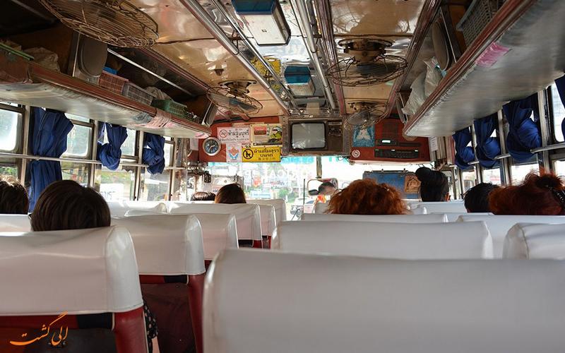حمل و نقل در اتوبوس