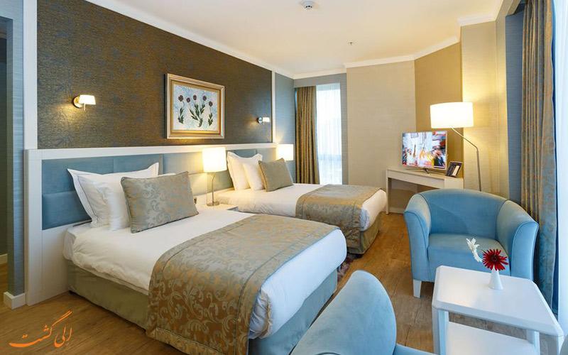 اتاق توئین بایوتل هتل استانبول