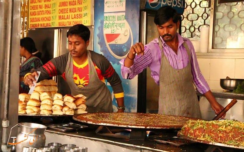 غذاهای هندی معروف در رستوران های ارزان بمبئی