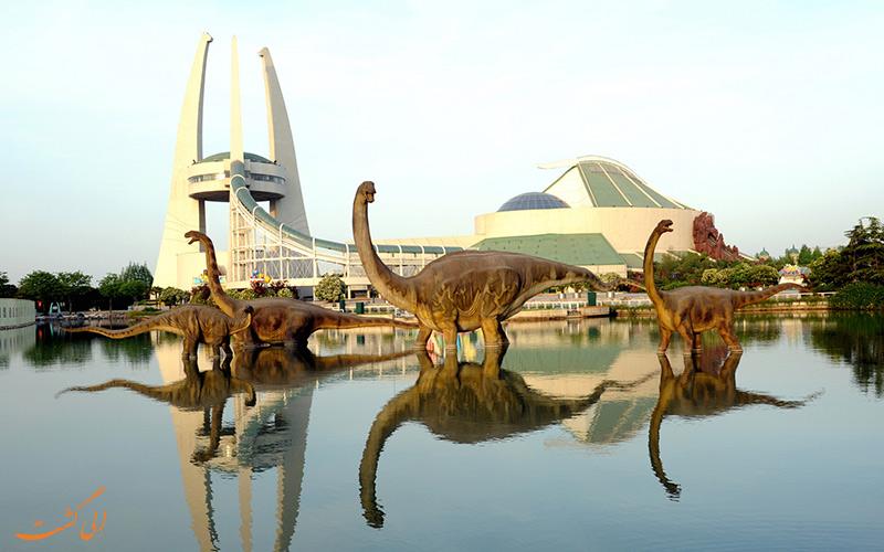پارک دایناسورها در چانگژو