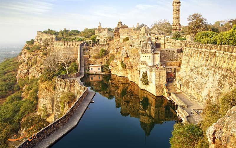 قلعه چیتورگار، بزرگترین قلعه هند