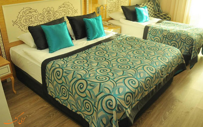 اتاق های امکانات هتل کریستال واتر ورلد