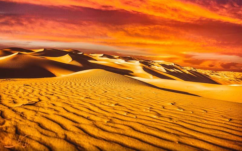 ربع الخالی، بیابان های بی پایان امارات