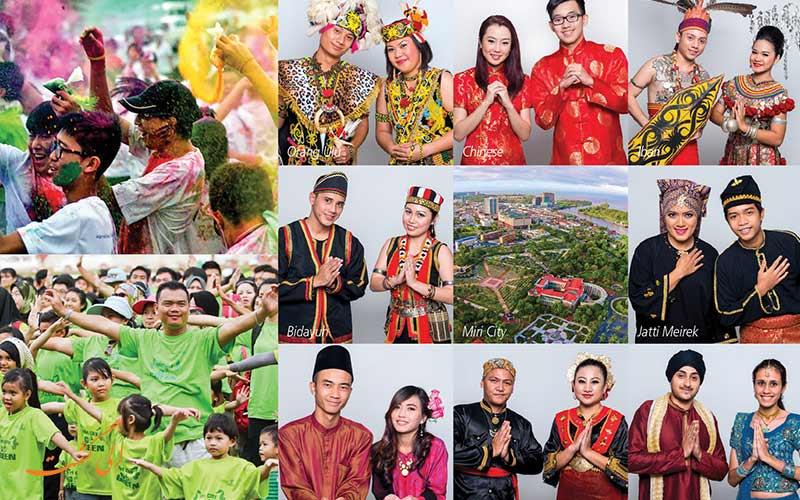 میری از توریستی ترین شهرهای مالزی