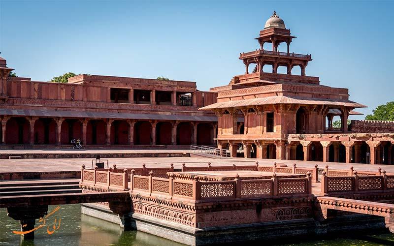 فاتح پور سیکری از جاذبه های گردشگری هند