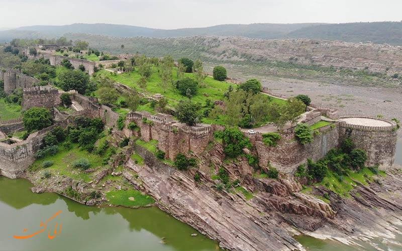 قلعه گاگرون از قلعه های راجستان هند