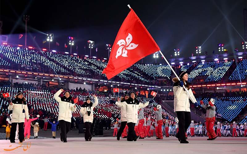 تیم هنگ کنگ در المبپک 2008 پکن-تفاوت هنگکنگ، ماکائو و چین
